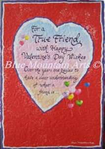 valentine card Blue Mountain Arts