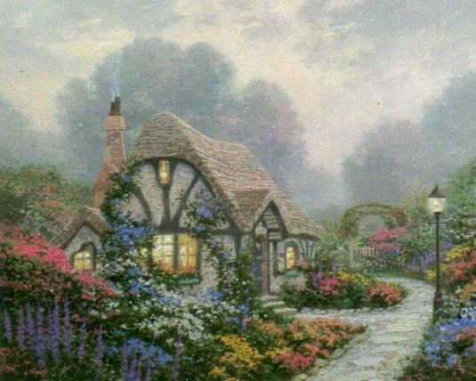 Thomas Kinkade - Chandler's Cottage