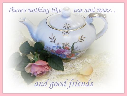 Teapot - good friends