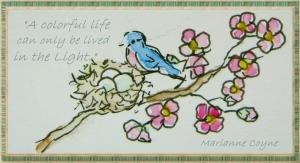 Bluebird detail