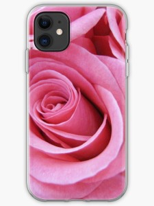 Rose colored roses iphone