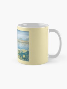 Serenity by the Water mug side