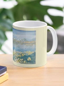 Be Still and Know mug side view