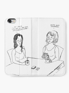 Kare and Mare You're such a goddess phone wallet