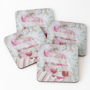 Love and Lace coasters