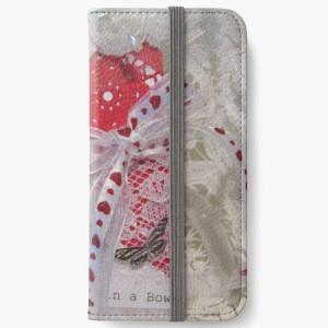 Valentine Hug iphone wallet